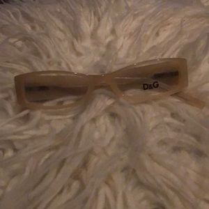 D&G authentic ex glasses